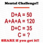 Mental challenge and iq test questions online 90% failed